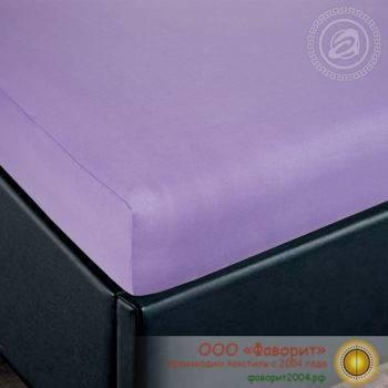 Простыни на резинке однотонные «Темные расцветки №1» из трикотажа