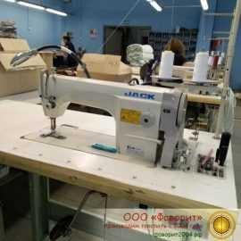 промышленная швейная машина JACK JK-8720 в цехе производства «Фаворит»