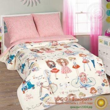 Детское постельное белье «Стиляги»