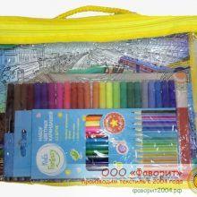 Практичное использование упаковки от детского кпб Фаворит — карандаши, фломастеры, раскраски