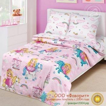 Детское постельное белье «Златовласка»